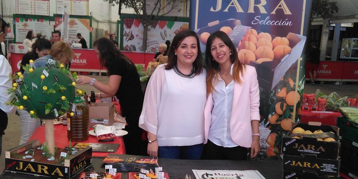 Huerta Campo Jara presente en la Feria Eroski 2017